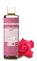Dr. Bronners Bio Flüssigseife - Rose 240ml