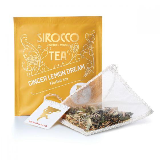 Sirocco Teebeutel Ginger Lemon Dream 20 Stk