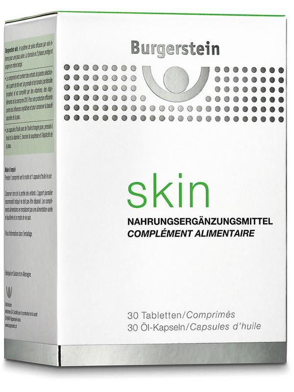 Burgerstein Skin 30Tbl/30Kps