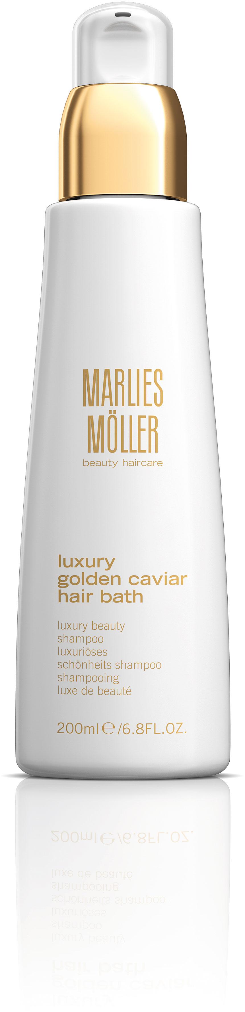 Marlies Möller Clean Lux Gold Cav Hair Bath 200 ml