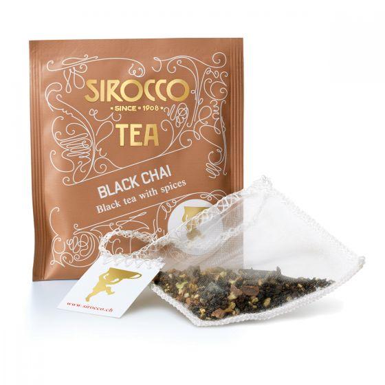 Sirocco Teebeutel Black Chai 20 Stk