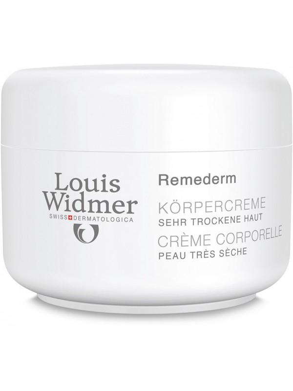 Louis Widmer Remederm Körpercreme Unparf 250 ml