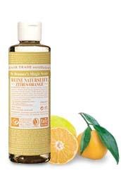 Dr. Bronners Bio Flüssigseife - Zitrone/Orange 60ml