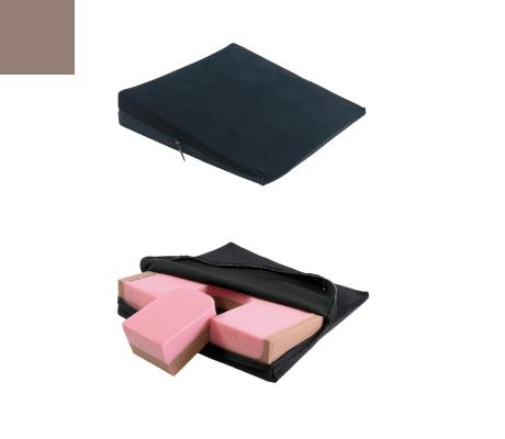 elsa Keilkissen Spezial mit Noppen Keilkissen AB 37 x 37 8/1 cm (mit herausnehmbarem Keil) sand