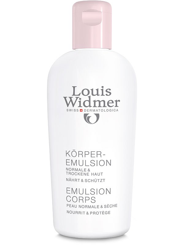 Louis Widmer Körperemulsion unparf 200 ml