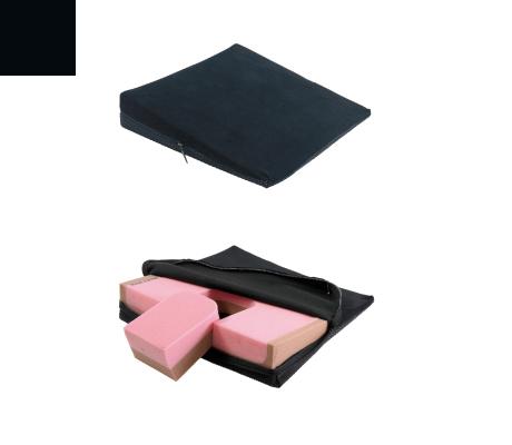 elsa Keilkissen Spezial ohne Noppen Keilkissen AB 37 x 37 8/1 cm (mit herausnehmbarem Keil) schwarz