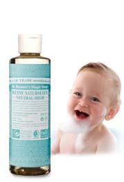 Dr. Bronners Bio Flüssigseife - Neutral/Baby Mild 240ml