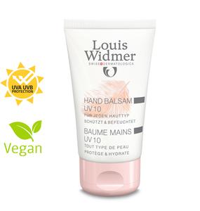 Louis Widmer Handbalsam UV 10 Parf 50 ml